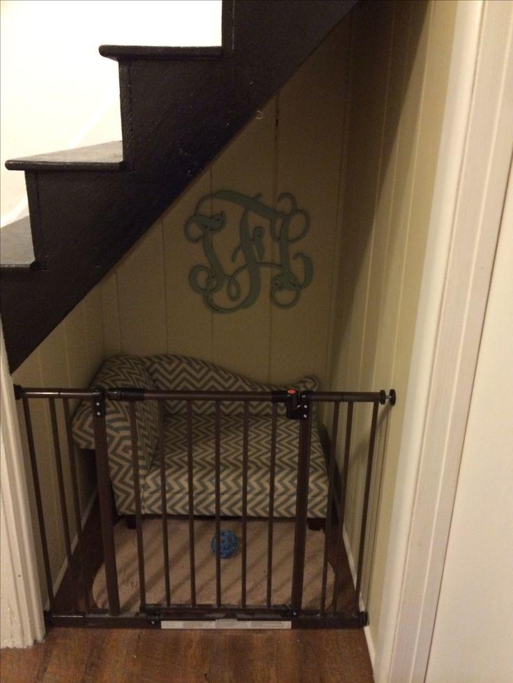dog nook doggies pinterest treppe wohnideen und hunde. Black Bedroom Furniture Sets. Home Design Ideas