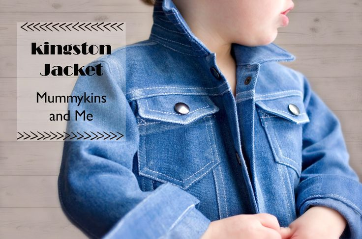 A Classic Distressed Denim Jacket on the Élégantine! blog