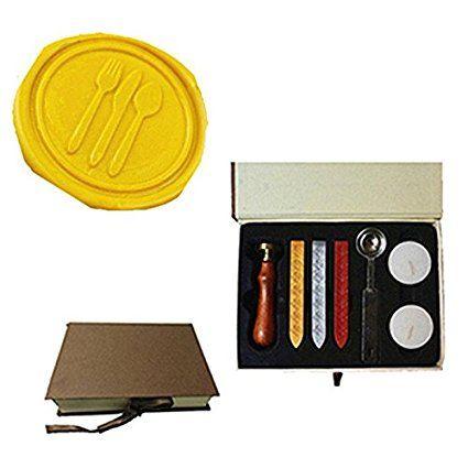 MDLG Vintage Servies Custom Foto Logo Huwelijksuitnodiging Lakzegel Afdichting Stamp Sticks Lepel Geschenkdoos Set Kit