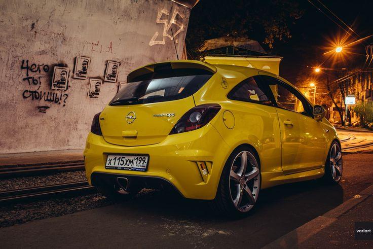 Opel Corsa OPC, Ночная Встреча   VARIART
