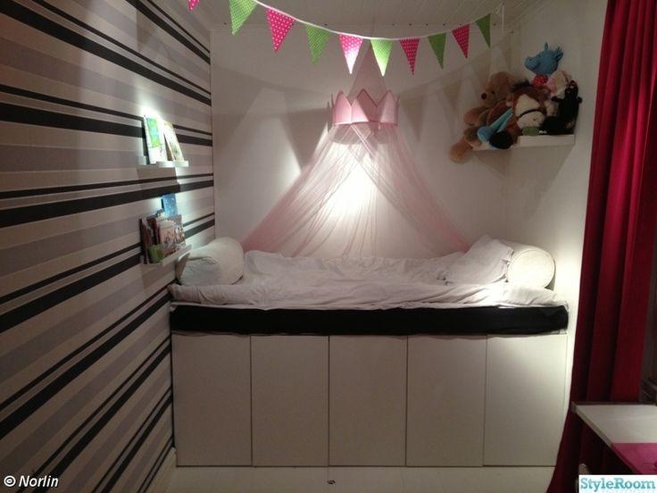 gyerekszobák, tény szekrények ikea konyha, hely Vidék ágy