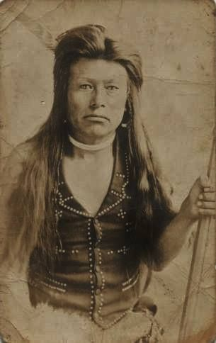 John Chapman - Nez Perce - circa 1910                                                                                                                                                      More
