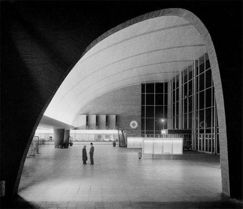 jonasgrossmann: karl hugo schmölz… hauptbahnhof köln, 1957 @...