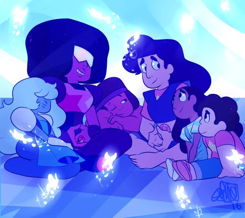 This is one of my favourite episodes because  1- we learned more about fusion  2- Steven dealt with his problems