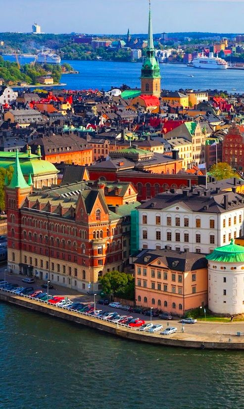 Old Town (Gamla Stan) in Stockholm • photo: Chamber Trade Sweden