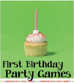 1st bday party games