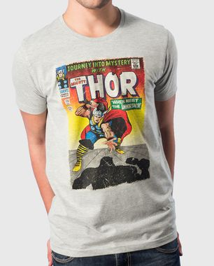 Watch the mighty Thor save the world from evil in this super cool comic-book style tee. We love the bright colours! Shop Now: http://voxpopclothing.com/thor/MATH0004MGM