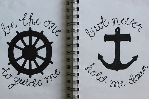 Like this a lot, maybe a compass instead