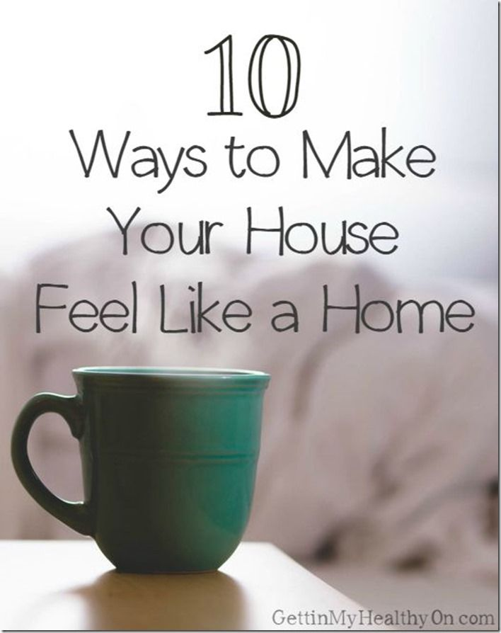 Read tips on how to make your house feel more like a home, like adding decorations to the wall, customizing your space, and condensing all unpacked boxes.