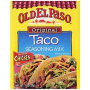 Old El Paso Original Taco Seasoning Mix, 1 Oz
