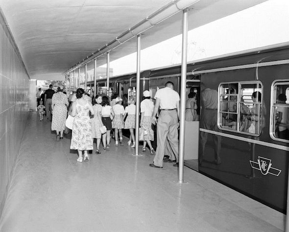 Gloucester Subway CNE Station