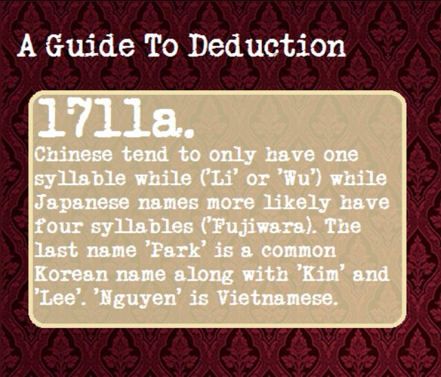 A Guide To Deduction Tran Is Also Popular Vietnamese Surname