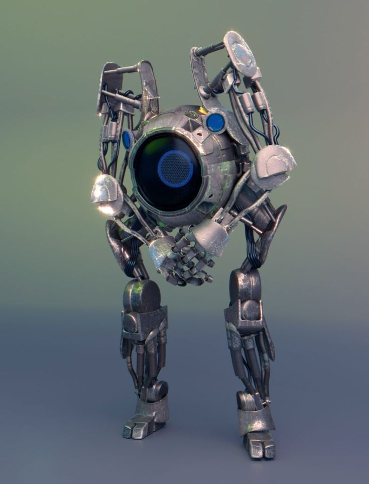 Blenderstory   Bot game character + Making of 1