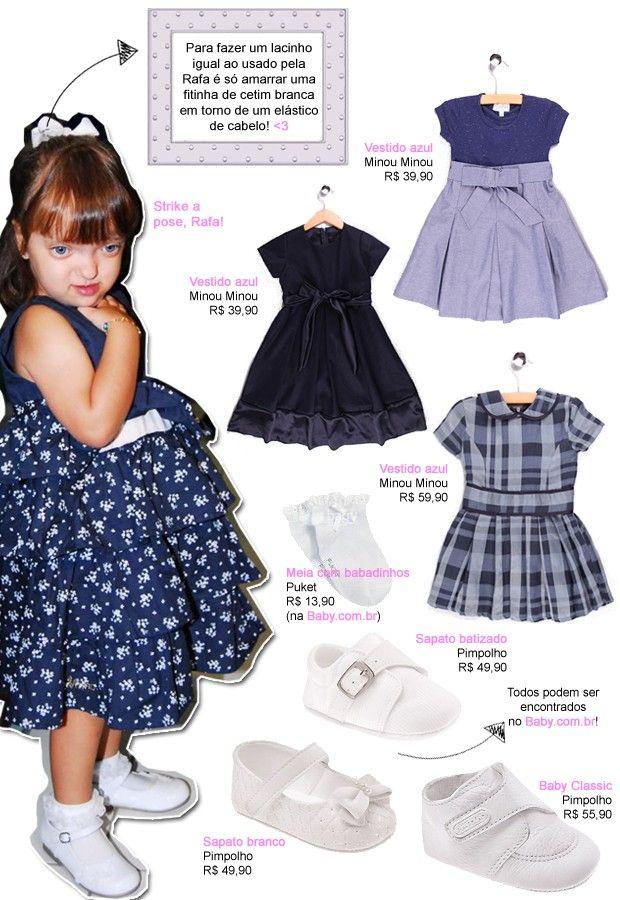 Mini looks da Rafaella Justus (filha de Roberto Justus & Ticiane) / look, roupa infantil, kids, baby
