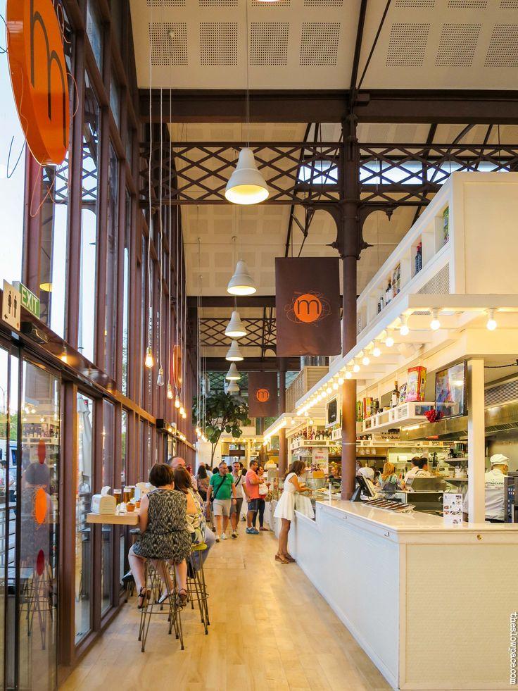 Mercado lonja del Barranco, Sevilla, by the slow pace
