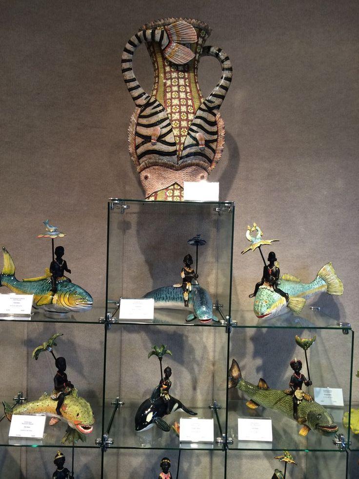 Ardmore Ceramic Art exhibited in Miami.
