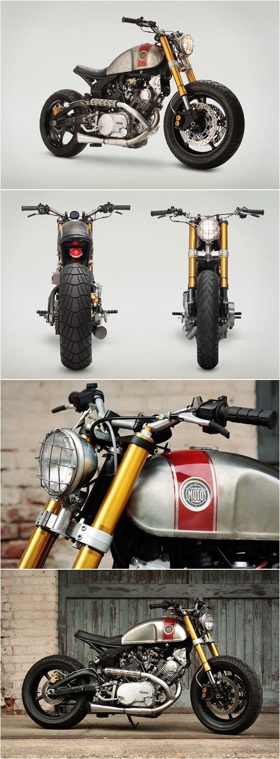 Yamaha Virago 1100 Cafe Racer | YAMAHA VIRAGO CUSTOM | PAR CLASSE MOTO