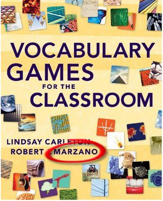 Vocabulary games for Marzano's 6-step process
