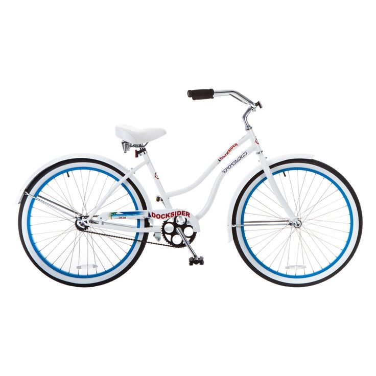 Titan 26 in. Women's Docksider Beach Cruiser Single-Speed Bicycle - 113-0181