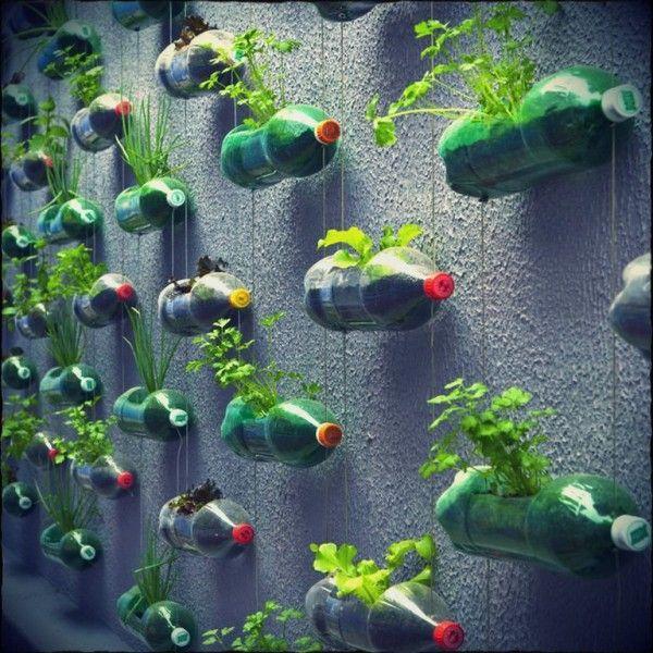 discount purses Vertical   Fun et colo   un jardin potager  bouteilles