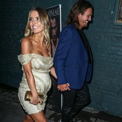 Hot: Pregnant Audrina Patridge Steps Out in a Tiny Sparkling Mini Dress Days After Revealing BabysSex