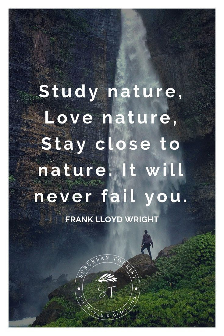 A list of inspirational, funny and inspiring nature quotes for you
