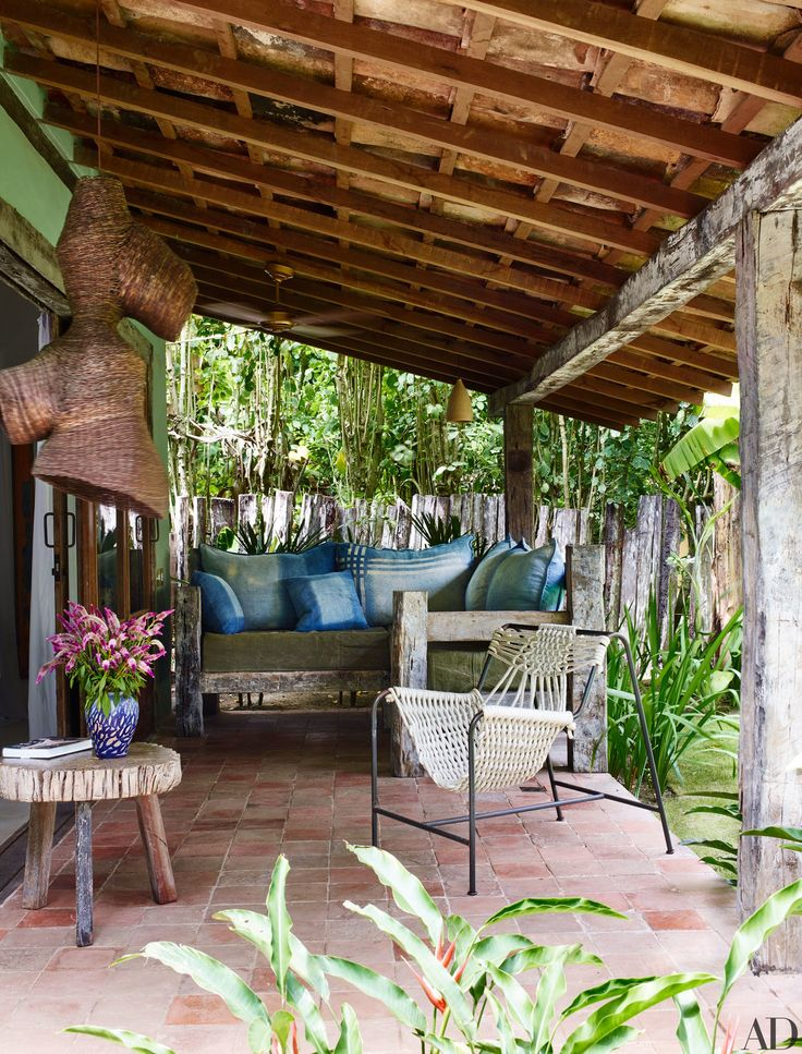 Go Inside Anderson Cooper's Trancoso, Brazil, Vacation Home Photos | Architectural Digest