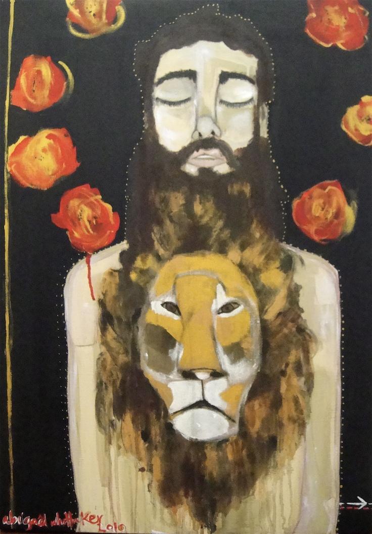 Abigael Whittaker  Beard the lion (confront a danger; take a risk) -2010