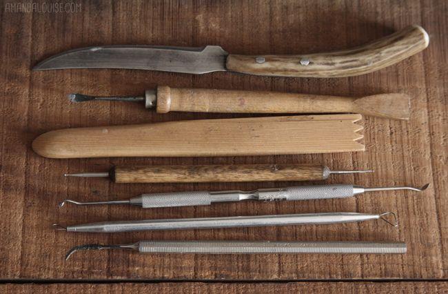 Dust Bunnies by Amanda Louise Spayd: Essential Tools: Sculpting