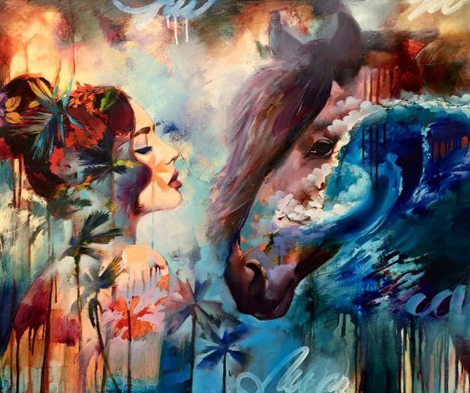 Sny na plátne: Maľby talentovaného 16-ročného dievčaťa vám vezmú dych | Emma.sk