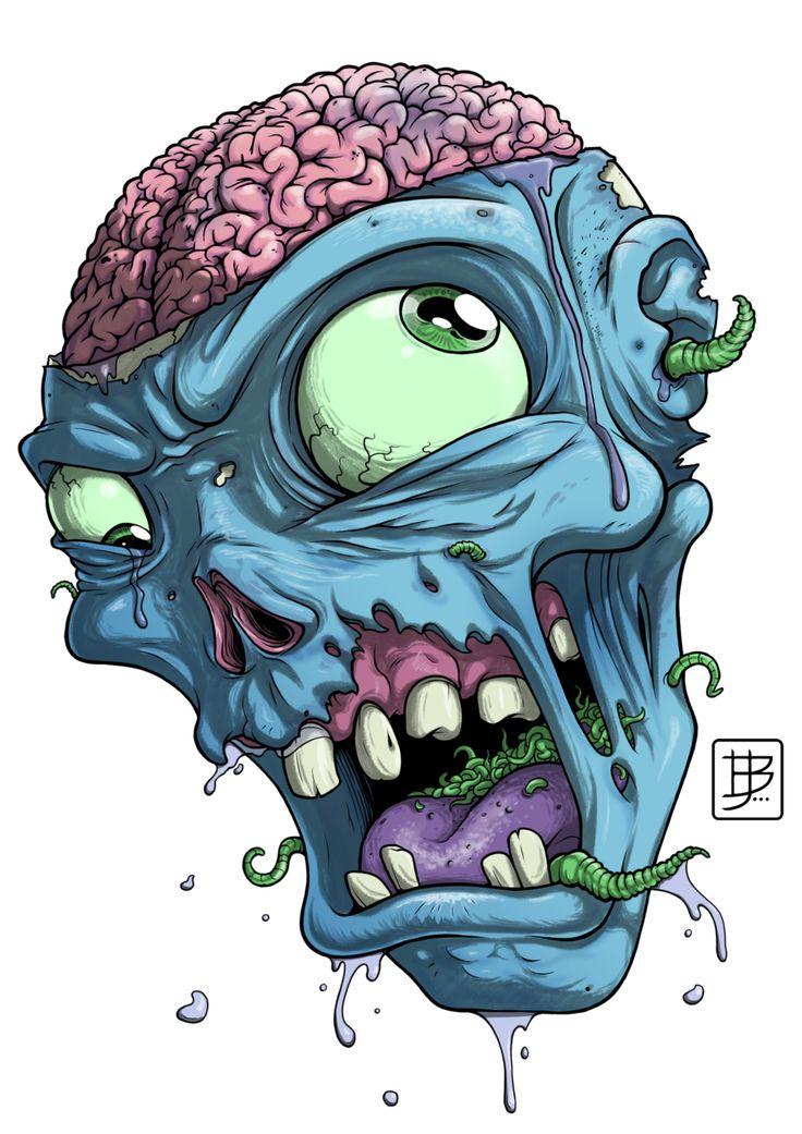 zombie head - Google Search