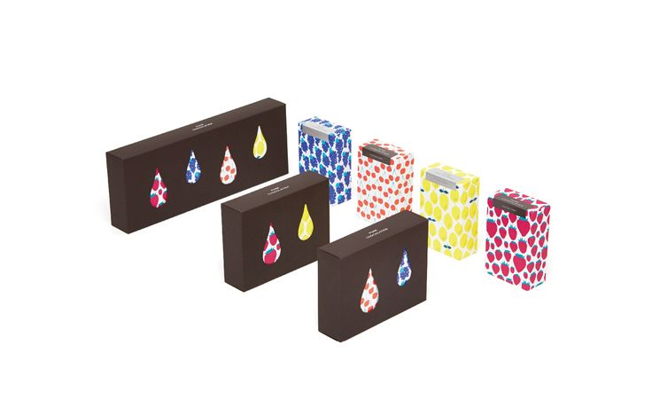 HITOTUBUKANRO Pure Chocolatier Package ヒトツブカンロ ピュレショコラティエ パッケージ Akiko Sekimoto 関本明子