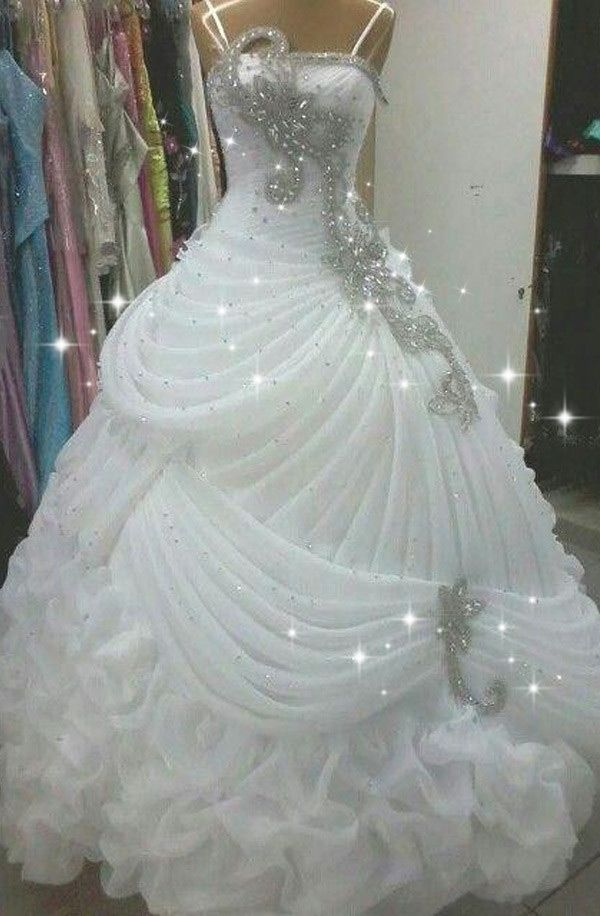 beaded ball gown! Have an impressive wedding!
