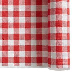 nappe-papier-gauffre-vichy-rouge-et-blanc-1.20-x-25-m livraison en point relais