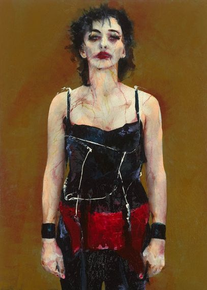 Lita Cabellut - after the show 01