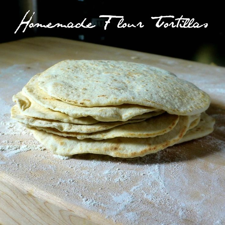 Homemade Flour Tortillas via @rosewayrenee using olive oil w great tips for rolling and frying