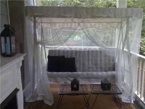 Mosquito Netting Over Swing In 2019 Mosquito Netting