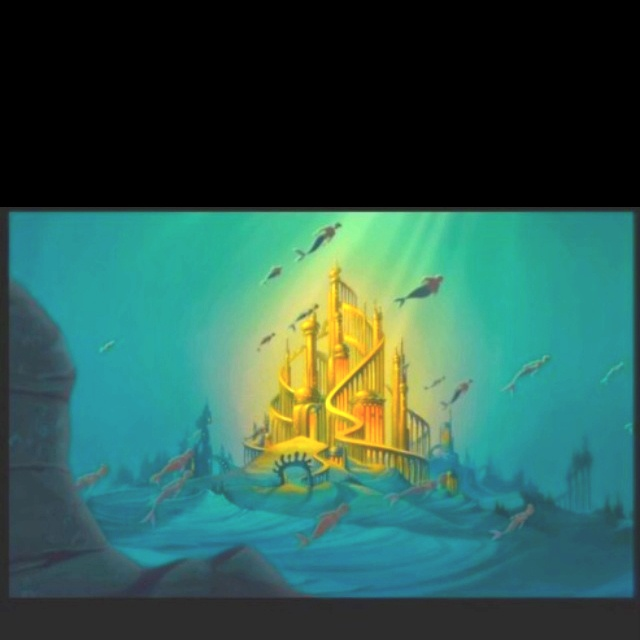 Day 7 My Favorite Castle Has To Ariel S Underwater Castle