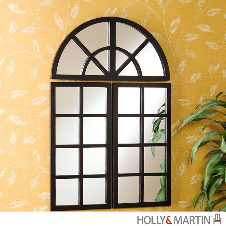 Window Pane Wall Decor 40 best window mirrors images on pinterest | mirrors, window panes