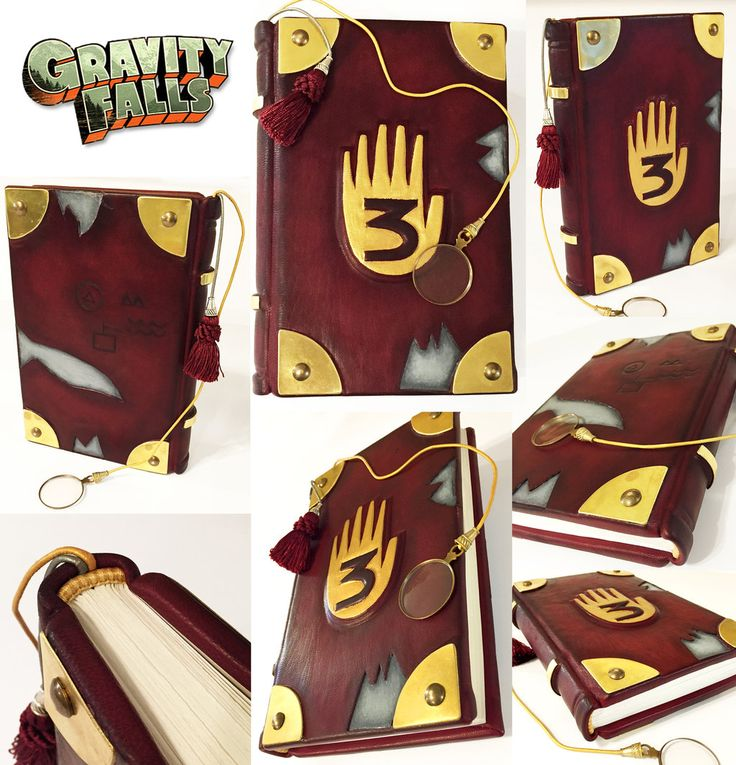 Gravity Falls Journal by BCcreativity.deviantart.com on @deviantART