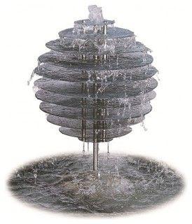 Spiral Orb - Water Feature - modern - indoor fountains - brisbane - by Nova Deko