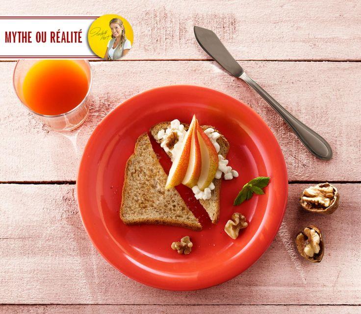 Mythe ou Réalité?  « Même si je ne souffre pas de la maladie cœliaque, le sans gluten est quand même meilleur pour ma santé. » [[Mythe]] Isabelle Huot - nous répond: « Pour la majorité des gens, je continue à recommander la consommation de grains entiers (incluant le blé). Ces derniers sont associés à un meilleur profil de santé. »