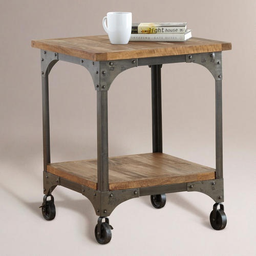 Wood And Metal Aiden End Table: 142 Best Kim S. Images On Pinterest