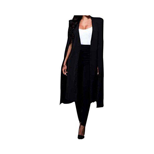 Koly _Le donne del cappotto Autunno Inverno giacche casual: Amazon.it: Abbigliamento