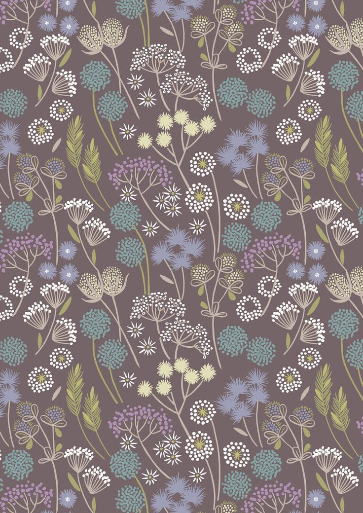 Lewis & Irene Fabric - Make a Wish A057-2 Hedgerow Flowers on Earth - Poppy Patchwork