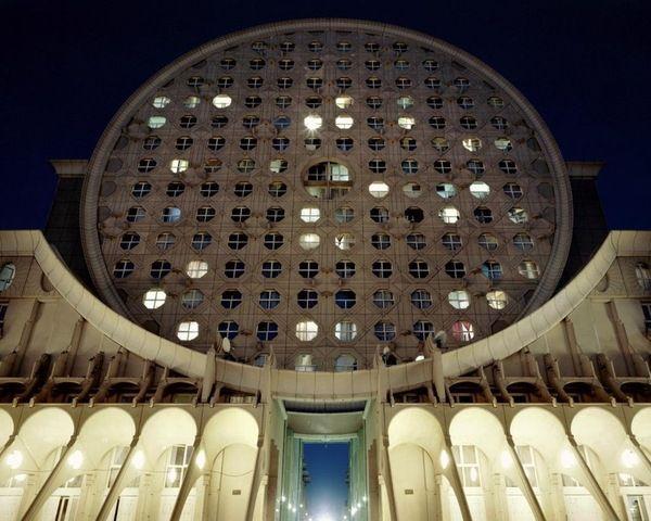 Утопическая французская архитектура