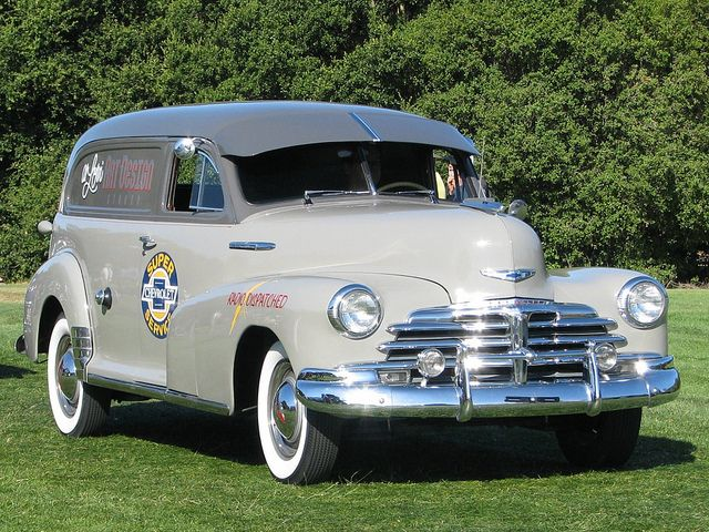 1948 Chevrolet Delivery Sedan..With many extras.