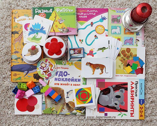 Развивающие игры с детьми : Наш план занятий по Шичиде от 2 до 3 лет