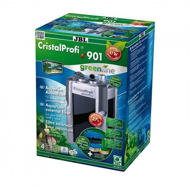 JBL CristalProfi e901 Greenline 4-Stage External Canister Filter for 90-300 Liters Aquarium Fish Tank 900LPH #Affiliate