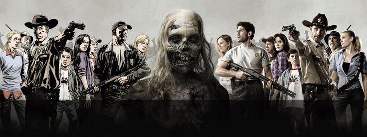 Uitbraak van een zombieserie